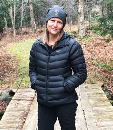 Kate Greenleaf, Waterbury Vermont massage therapist and yoga instructor