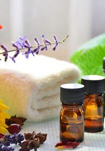 Therapeutic massage with oils